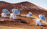 Photo of Smithsonian Sub-Millimeter array dishes